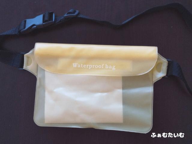 川遊びにおすすめの防水バッグ