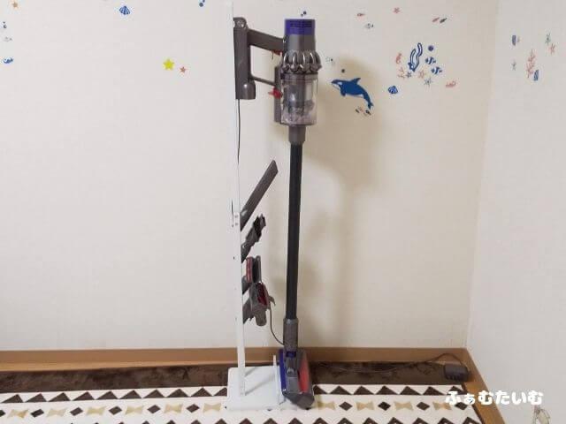 ダイソン コードレス掃除機 フロアドック 収納